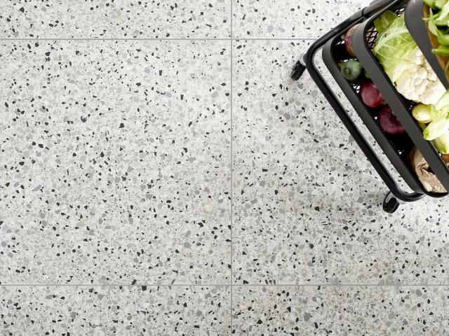 Carrelage Hatchi imitation granit, 60 x 60 cm, Lapeyre