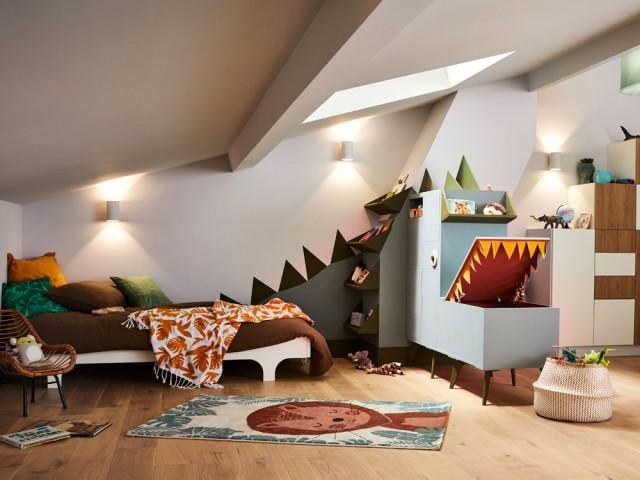 Aménager les combles en chambre ludique pour enfant