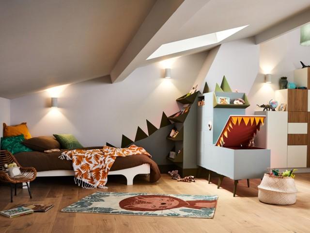 Aménager une chambre d'enfant sous les combles