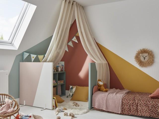 Aménager une chambre pour enfant dans les combles