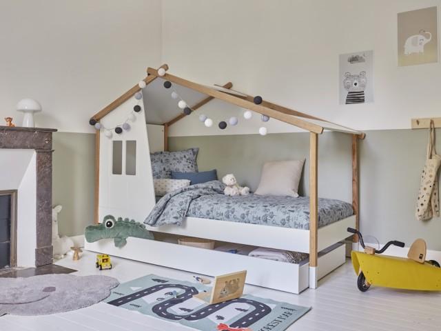 Un lit cabane qui donne envie d'aller se coucher