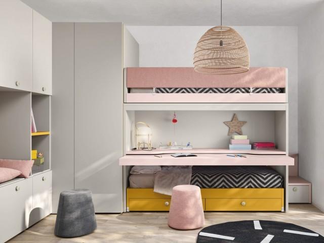 Du mobilier modulable pour partager sa chambre