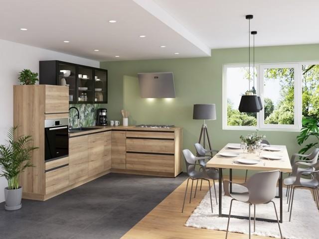 Le vert, la nouvelle couleur star dans la cuisine !