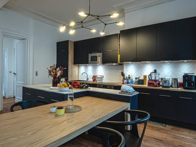 Une cuisine entièrement réaménagée