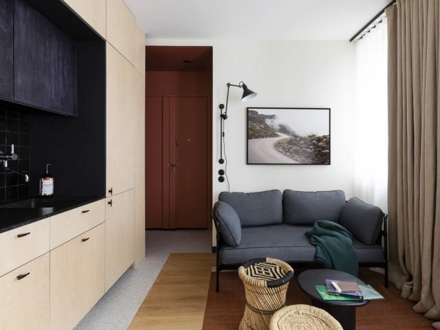 Un intérieur chaleureux et élégant