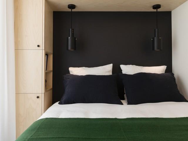 Une chambre à coucher réorganisée