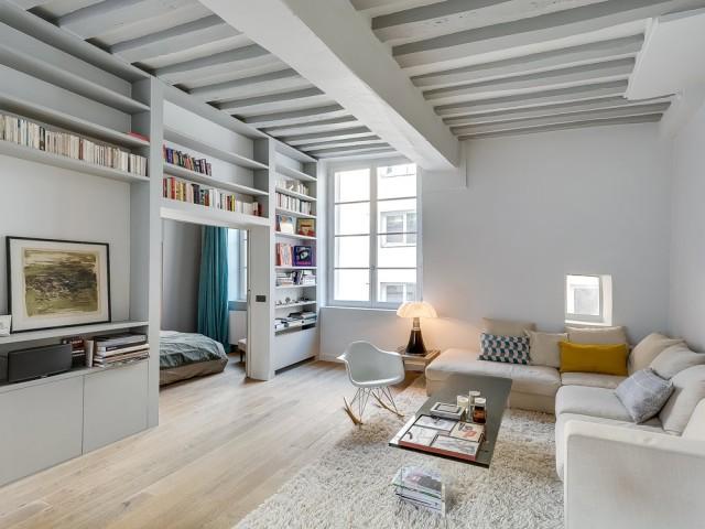 Après : un appartement élégant, très lumineux