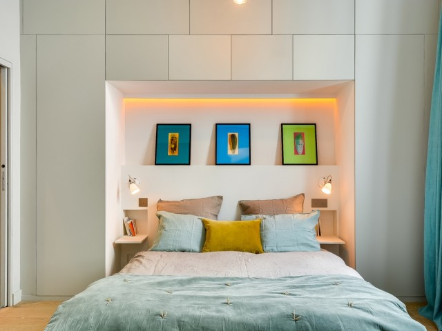 Une chambre pensée comme un cocon