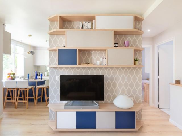 Un appartement habilement réinventé