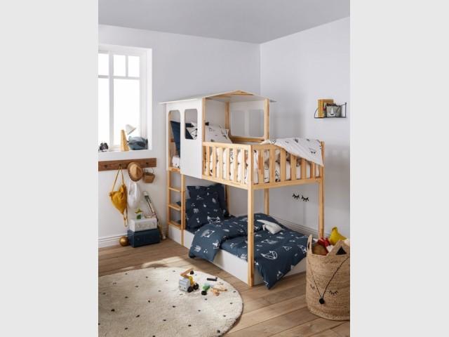 Lit cabane Sebara, La Redoute Intérieurs, prix : 699 €
