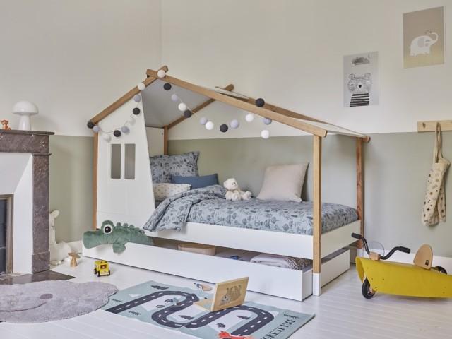 Lit cabane Ivanoe, Camif, prix : 469 €
