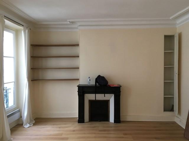 Avant : un appartement ancien à rafraîchir