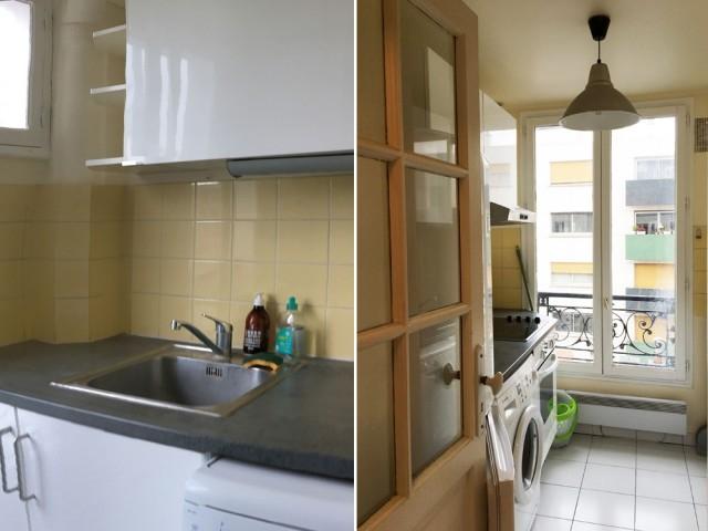 Avant : une cuisine à optimiser