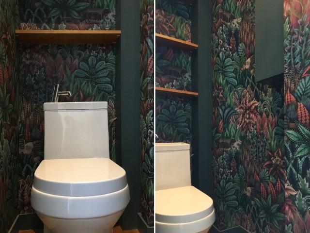 Des toilettes à la déco originale