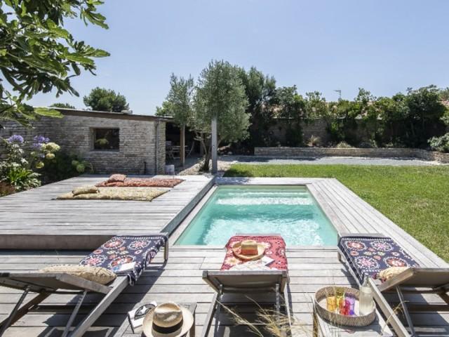 Une mini piscine pour la détente