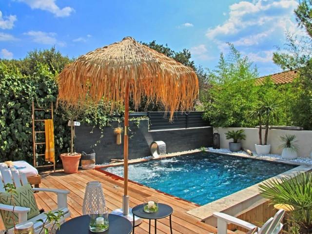 Une mini piscine tout-en-un