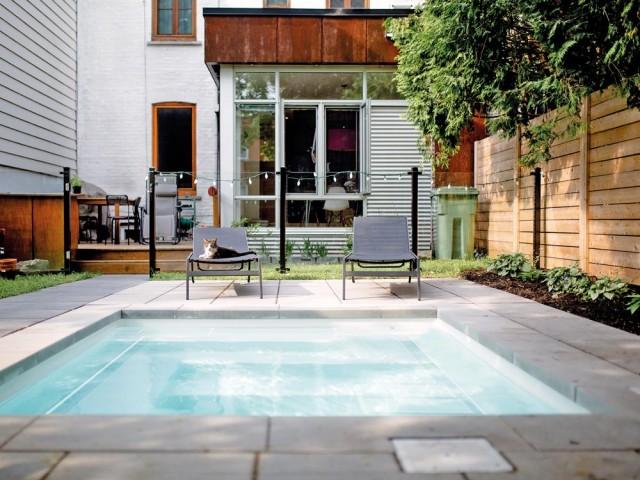 Mini piscine pour maison de ville