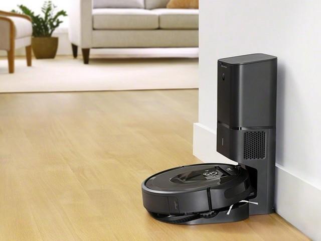 L'iRobot Roomba i7+, robot connecté, avec cartographies intelligentes et base d'auto-évacuation, prix : 900 €