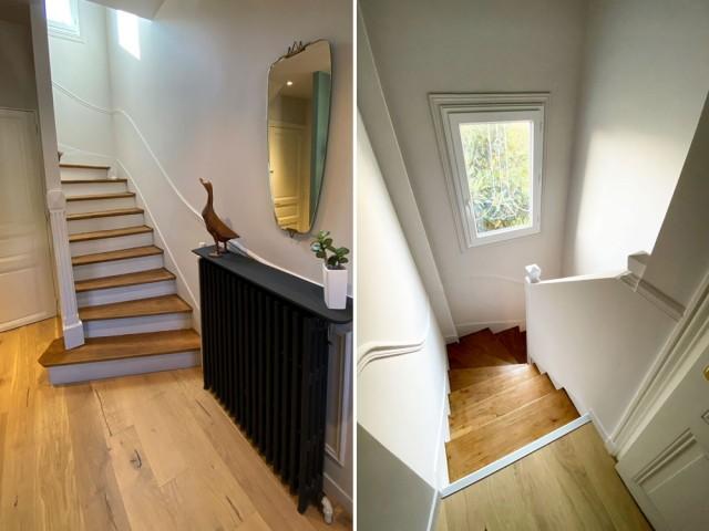 Cure de jouvence pour l'escalier