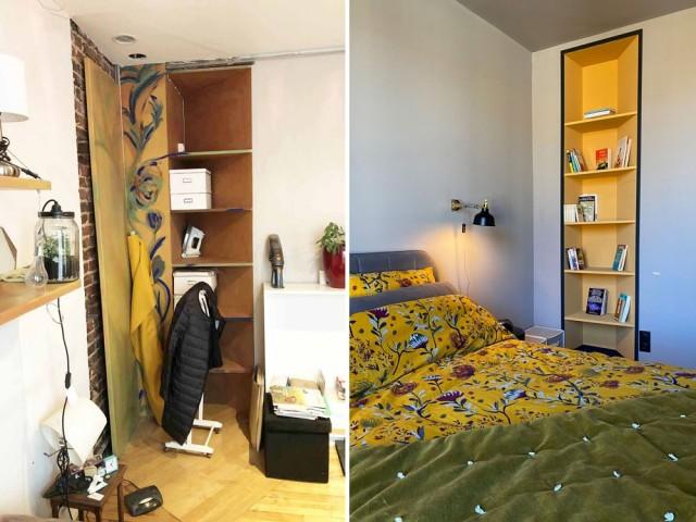 Une chambre rafraîchie avec élégance