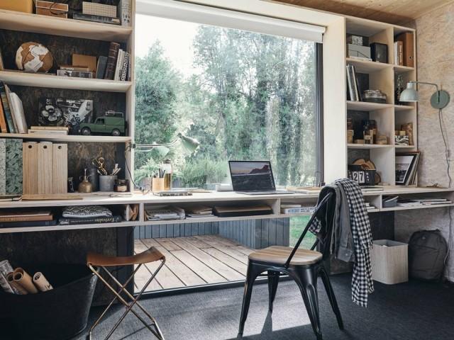 Aménager un studio de jardin en bureau