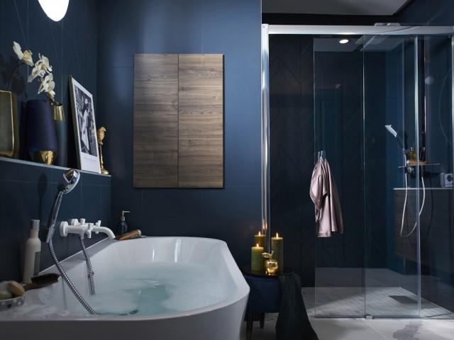 Une salle de bains façon cocon