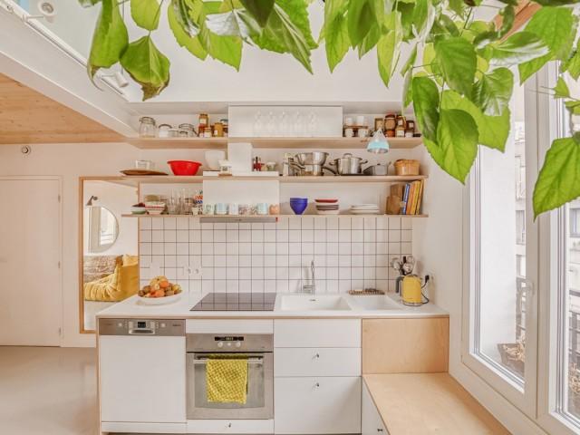 Une cuisine sur-mesure pleine d'astuces