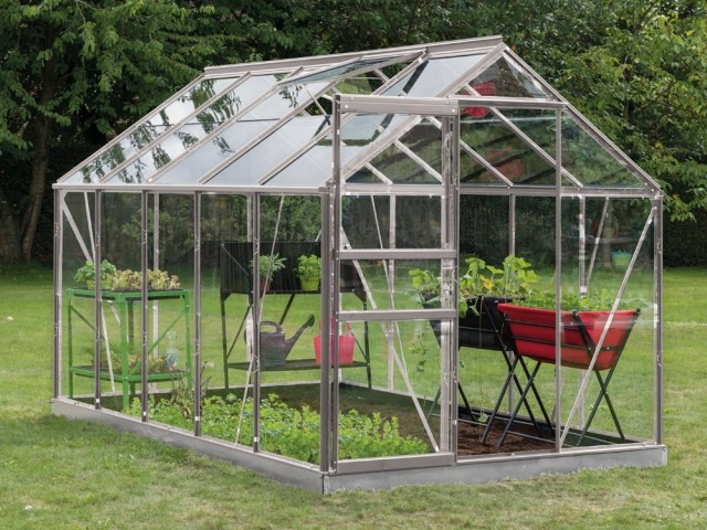 Serre en verre et aluminium, 999 €, Botanic