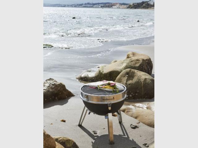 Barbecue à charbon Billy, Barbecook, prix : 69 €