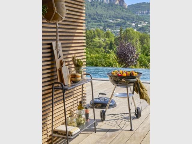 Barbecue Compact Kettle, Jardiland, prix : 99,95 €