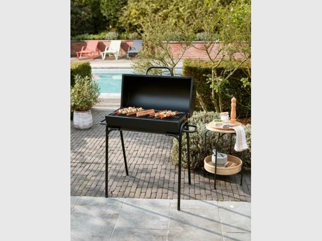 Barbecue au charbon Jefferson, Gifi, prix : 55 €