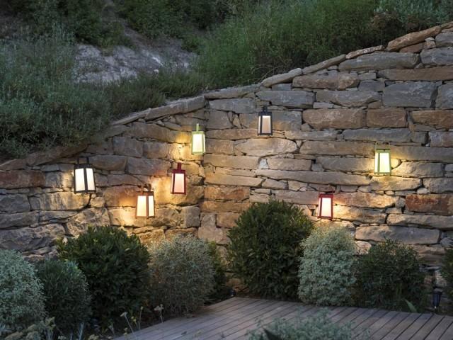 Un éclairage modulable dans le jardin