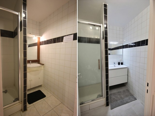 Avant/après : des salles de bains rafraîchies