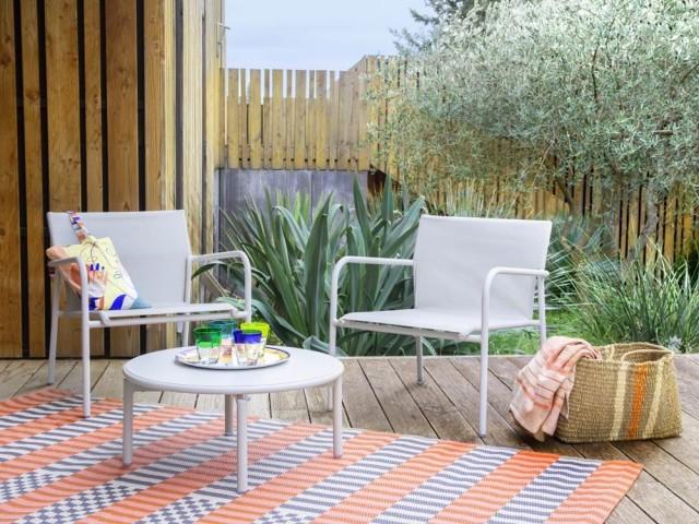 Chaise en aluminium Pacha, Habitat, prix : 159 €