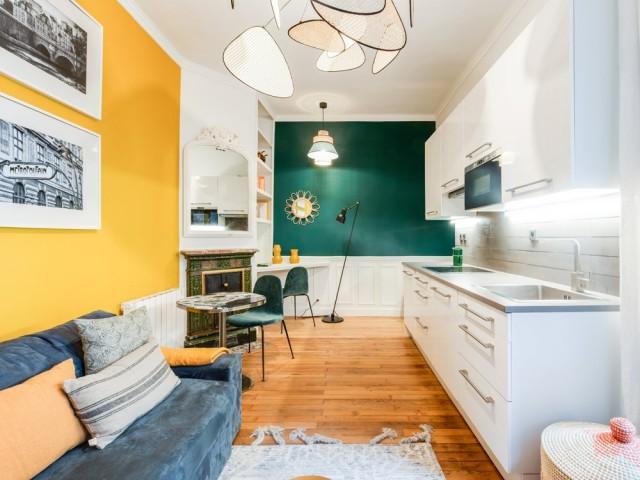 Un jaune solaire dans le salon