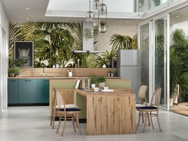 Une cuisine à l'esprit vert