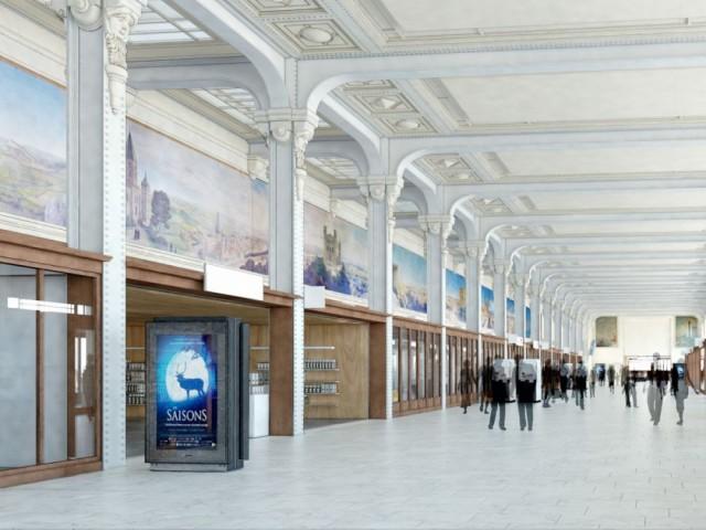 Galerie des fresques Paris gare de Lyon