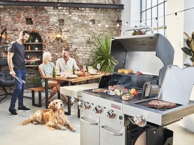Le plus professionnel : barbecue à gaz Professional PRO S3