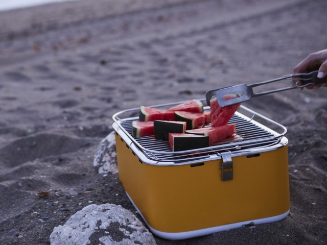 Le plus nomade : barbecue de table Carlo