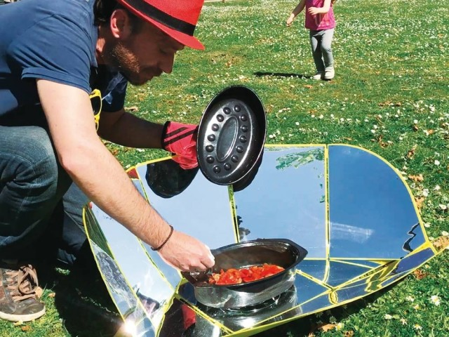 Le plus écolo : barbecue solaire Solar Brother