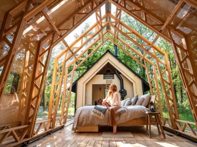 Une innovante maison en bois à moduler au gré de ses envies