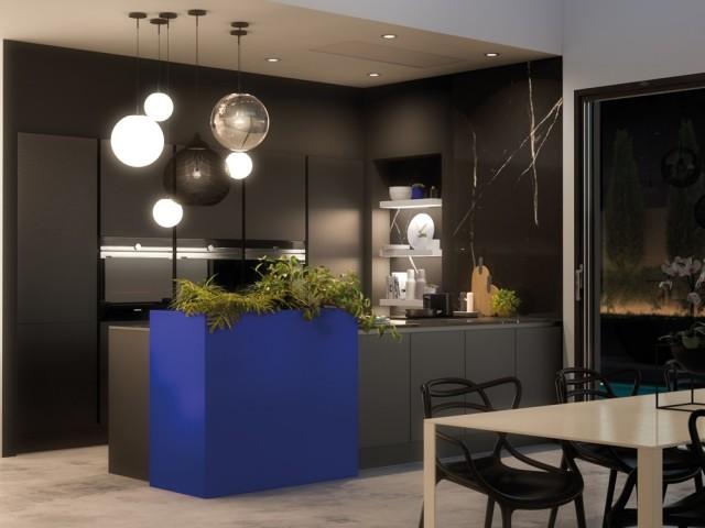 Cuisine Zia noir mat, Cuisines Aviva, prix : à partir de 4.590 €