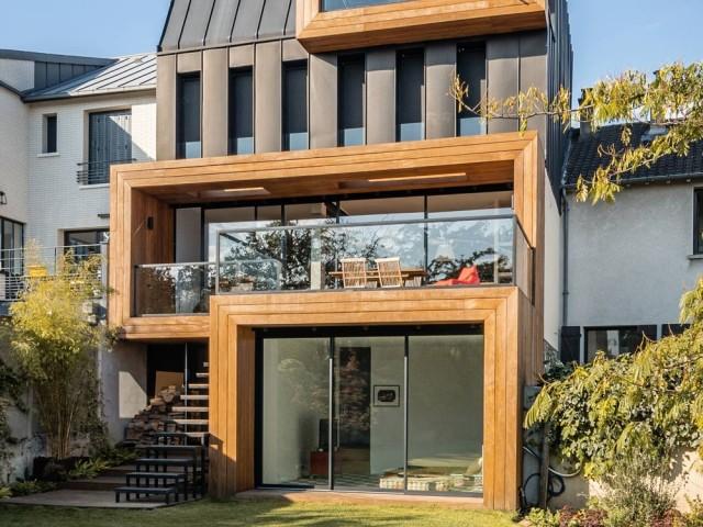 Une architecture plus contemporaine