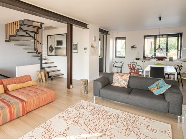 Une maison habilement modernisée
