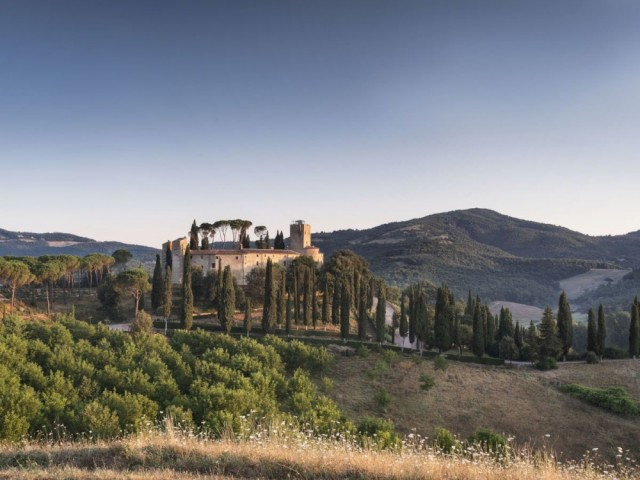 Hôtel Castello di Reschio Italie château