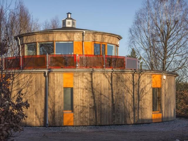 Une surprenante maison ronde, passive et autonome