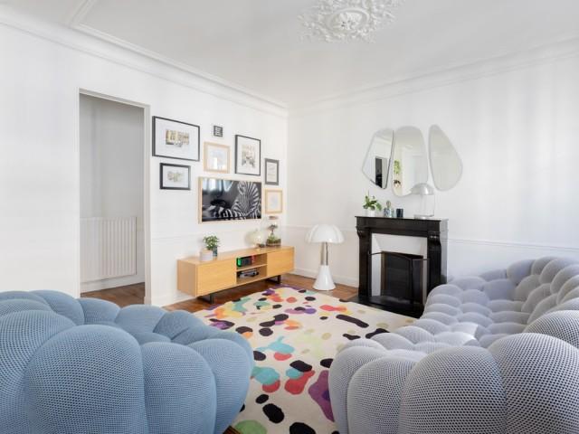 Cure de jouvence contemporaine pour ce 52 m2 parisien