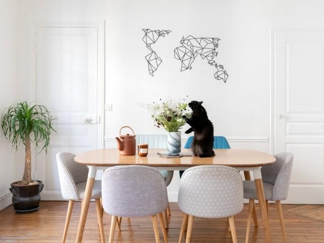 Un espace salle à manger accueillant