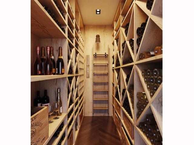 Une cave à vin digne d'un sommelier