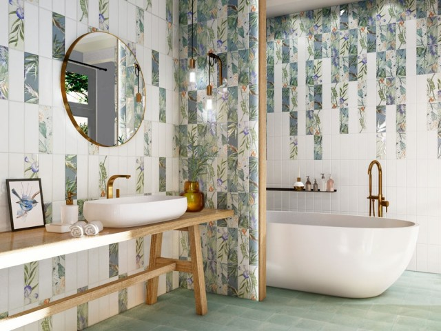 Carrelage : 10 idées pour booster la déco de sa salle de bains